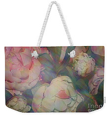 Weekender Tote Bag featuring the photograph Impressionistic Spring Bouquet by Dora Sofia Caputo Photographic Art and Design