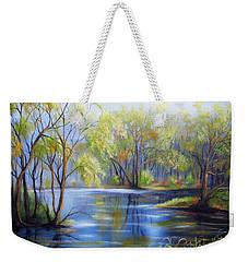 Impressions Of Spring Weekender Tote Bag
