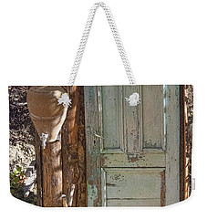 Improvised Outhouse Weekender Tote Bag