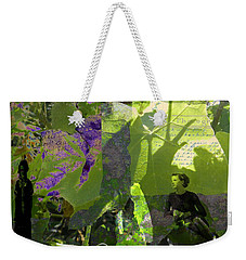 Weekender Tote Bag featuring the digital art In A Dream by Cathy Anderson