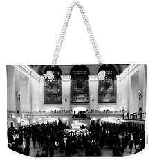 In Awe At Grand Central Weekender Tote Bag