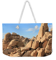 In Between The Rocks Weekender Tote Bag by Amy Gallagher