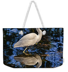 In Blue Weekender Tote Bag