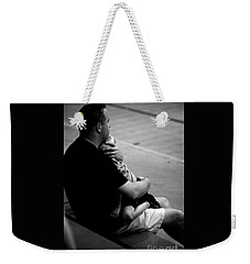 In Daddy's Arms Weekender Tote Bag