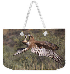 In Flight Meals Weekender Tote Bag
