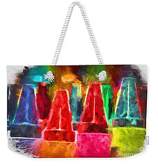 In Honor Of Crayons Weekender Tote Bag
