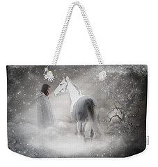 In Honor Of The Unicorn Weekender Tote Bag