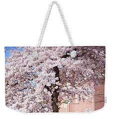 In Its Glory. Pink Spring In Amsterdam Weekender Tote Bag