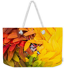 Weekender Tote Bag featuring the photograph In Living Color by Aaron Aldrich