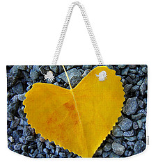 Weekender Tote Bag featuring the photograph In Love ... by Juergen Weiss