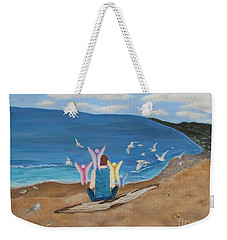 In Meditation Weekender Tote Bag by Cheryl Bailey