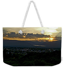Weekender Tote Bag featuring the photograph In My Place by Jeremy Rhoades