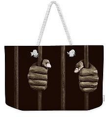 In Prison Weekender Tote Bag by Chevy Fleet