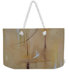 Weekender Tote Bag featuring the painting In Pursuit Of Youth by Judith Rhue