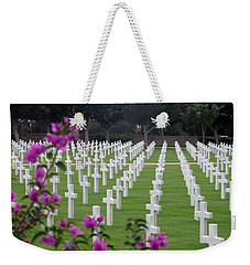 Weekender Tote Bag featuring the photograph In Rememberance by Lucinda Walter