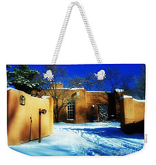 in Santa Fe NM Weekender Tote Bag