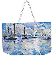 In Search For America's Freedom Weekender Tote Bag by Helena Bebirian