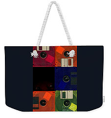 Weekender Tote Bag featuring the photograph In Search Of The Missing Disc by Michael Hoard