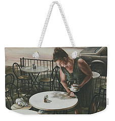 In The Absence Of A Dream Weekender Tote Bag