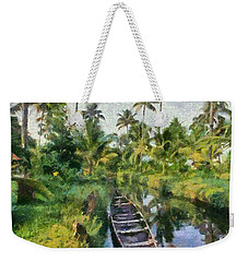 In The Backwaters Of Kerala Weekender Tote Bag