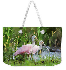 In The Bayou #3 Weekender Tote Bag by Betty LaRue