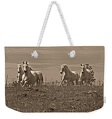 Weekender Tote Bag featuring the photograph In The Field D5959 by Wes and Dotty Weber