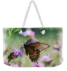 In The Flowers Weekender Tote Bag by Kerri Farley