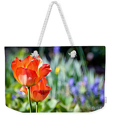 In The Garden Weekender Tote Bag by Kerri Farley