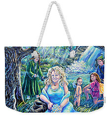 In The Garden Of The Goddess Weekender Tote Bag