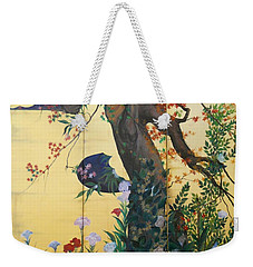In The Garden Weekender Tote Bag by Sorin Apostolescu