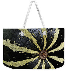 In The Garden - Striped Melon Weekender Tote Bag