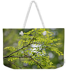 In The Green Weekender Tote Bag by Kerri Farley