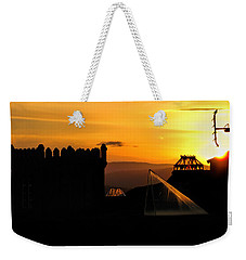 In The Land Of The Sunset Spires Weekender Tote Bag
