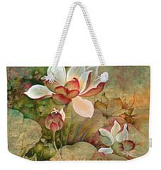 In The Lotus Land Weekender Tote Bag