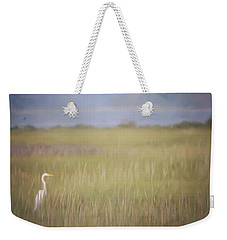 In The Marsh  Weekender Tote Bag by Kerri Farley