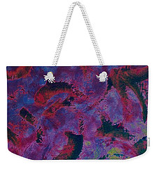 Weekender Tote Bag featuring the painting In The Mind's Eye by Jacqueline McReynolds