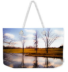 In The Mood Weekender Tote Bag by Peggy Franz