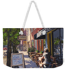In The Morning Sun Weekender Tote Bag