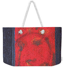 Weekender Tote Bag featuring the painting In The Night Sky by Mini Arora