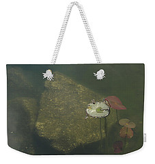 Weekender Tote Bag featuring the photograph In The Pond by Carol Lynn Coronios