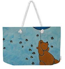 In The Pursuit Of Honey Weekender Tote Bag