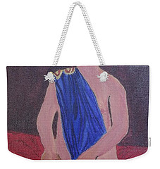 In The Royal Blue Weekender Tote Bag by Tracey Williams