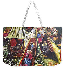 In The Same Boat Weekender Tote Bag