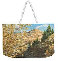 Belt Butte Autumn Weekender Tote Bag