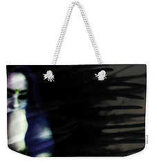 Weekender Tote Bag featuring the photograph In The Shadows Of Doubt  by Jessica Shelton