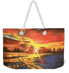 In The Still Of Dawn-2 Weekender Tote Bag