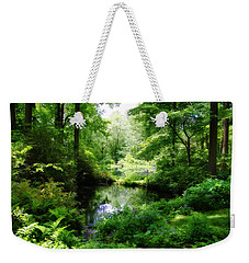 In The Stillness Weekender Tote Bag