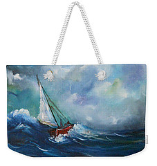 In The Storm Weekender Tote Bag by Dorothy Maier