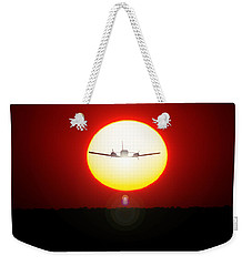 Weekender Tote Bag featuring the photograph In The Sun by Paul Job
