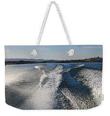 In The Wake Of Lake Havasu Az  Weekender Tote Bag